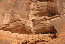 Canyon De Chelly Ruins Stock Images