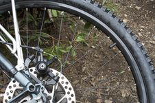 Free Rear Bike Wheel Stock Image - 2836201
