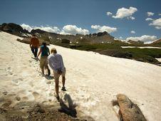 Free Snow Trekkers Stock Images - 2836394