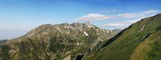 Free Mountain Peaks Panorama Royalty Free Stock Images - 2837319