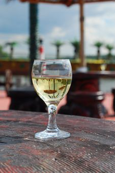 Free Wineglass On The Table Royalty Free Stock Photo - 2838035