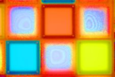 Free Vivid Colored Luminous Squares Stock Photo - 2838120