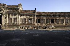 Free Angkor Wat Internal View Stock Images - 2838234