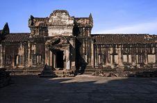 Free Angkor Wat Internal View Royalty Free Stock Photo - 2838245