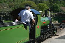 Narrow Gauge Steam Train Royalty Free Stock Image