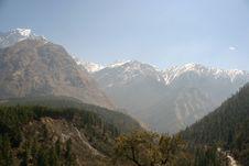 Free Himalaya Nepal Trekking Royalty Free Stock Image - 2838836