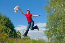 Free Jump Into The Sky (series) Royalty Free Stock Images - 2839449