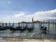 Free Gondolas In Venice (2) Stock Photo - 2839550