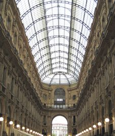Free Covered Building In Milan Italy Stock Photos - 2839553