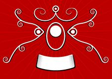 Free Red Spiral Banner Royalty Free Stock Photo - 2839635