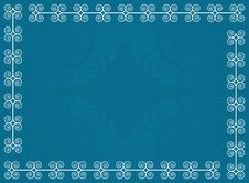 Stylized Blue Background Royalty Free Stock Photography