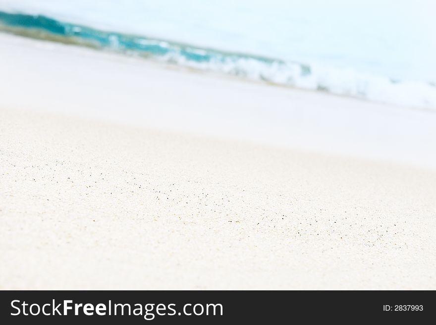 White Tropical Sand