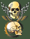Free Art Skull Pattern Tattoo Stock Photos - 28301173
