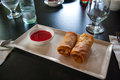 Free Chinese Fried Spring Egg  Roll Stock Photo - 28302940