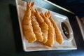 Free Deep Fried Popcorn Shrimp Platter Royalty Free Stock Photo - 28302955