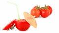 Free Creative Tomato Juice Royalty Free Stock Image - 28303726