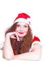 Free Portrait Of Pretty Curly Girl Stock Images - 28303754
