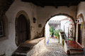 Free Medieval Street In The  Town Of Obidos, Portugal Royalty Free Stock Photo - 28304105