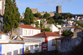 Free Old Beautiful Houses In Medieval City Of Obidos, Portugal Stock Photos - 28304173