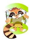 Free Cute Raccoon Stock Image - 28306411