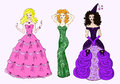 Free Three Princesses Royalty Free Stock Photo - 28309705