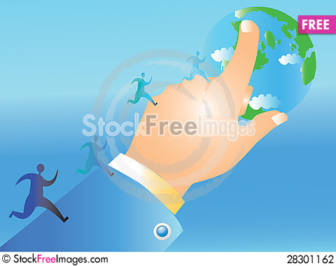 Free Wolrd Business Stock Photography - 28301162