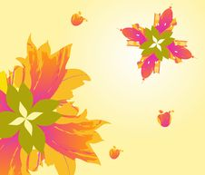 Free Autumn Flowers, Motifs Of The City. Royalty Free Stock Photos - 28301018