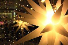 Free Christmas Light Snow Spikes Stock Image - 28302121