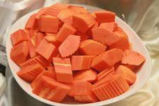Free Papaya Peeled. Royalty Free Stock Photos - 28302378