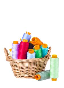 Free Sewing Thread Royalty Free Stock Photos - 28302428