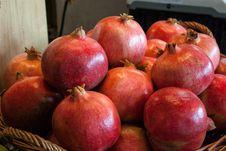 Free Ripe Juicy Pomegranates Royalty Free Stock Image - 28302966