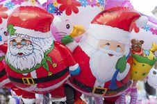 Free Santa Claus Balloon Royalty Free Stock Photos - 28304038