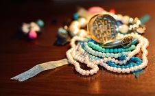 Free Jewelry Table Stock Photos - 28304233