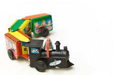 Free Toy Train Royalty Free Stock Photography - 28304237