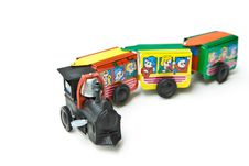 Free Toy Train Royalty Free Stock Image - 28304246