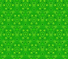 Free Green Abstract Curls Seamless Pattern Royalty Free Stock Photos - 28305118