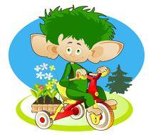 Free Little Gnom - Gardener Stock Photography - 28306412