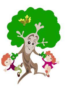 Free Merry Tree Stock Image - 28306421