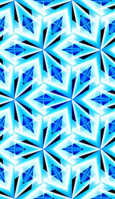 Seamless Pattern With Crystal Texture. Royalty Free Stock Photography