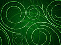 Free Green Swirls From Circles Royalty Free Stock Images - 28312779