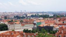 Free View Of Prague From Hill Royalty Free Stock Photos - 28313958