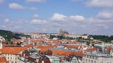 Free View Of Prague From Hill Royalty Free Stock Photos - 28313988