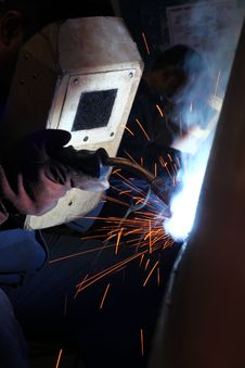 Free Welders Worker Stock Photos - 28316663