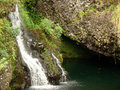 Free Makapipi Falls Found On The Road To Hana, Maui Stock Images - 28323694