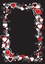 Free Frame With Hearts Stock Photography - 28325732