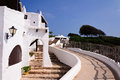 Free Typical White Houses In The Village Of Binibequer Vell, Menorca, Balearic Islands Royalty Free Stock Photo - 28328785