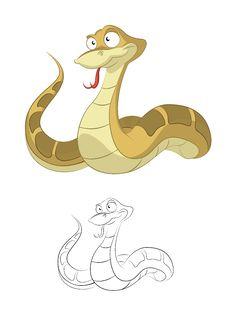 Free Vector Snake Royalty Free Stock Photos - 28321478