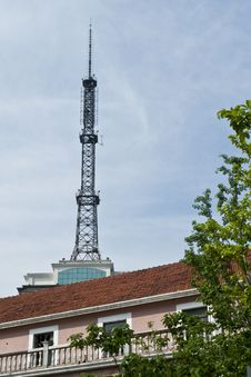 Free A Signal Tower Stock Images - 28327354