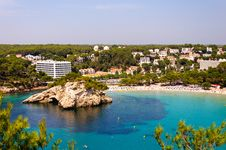 Free Cala Galdana Beach In Menorca, Spain Royalty Free Stock Photography - 28328307
