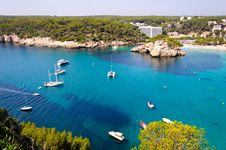 Free Cala Galdana Beach In Menorca, Spain Royalty Free Stock Photo - 28328315